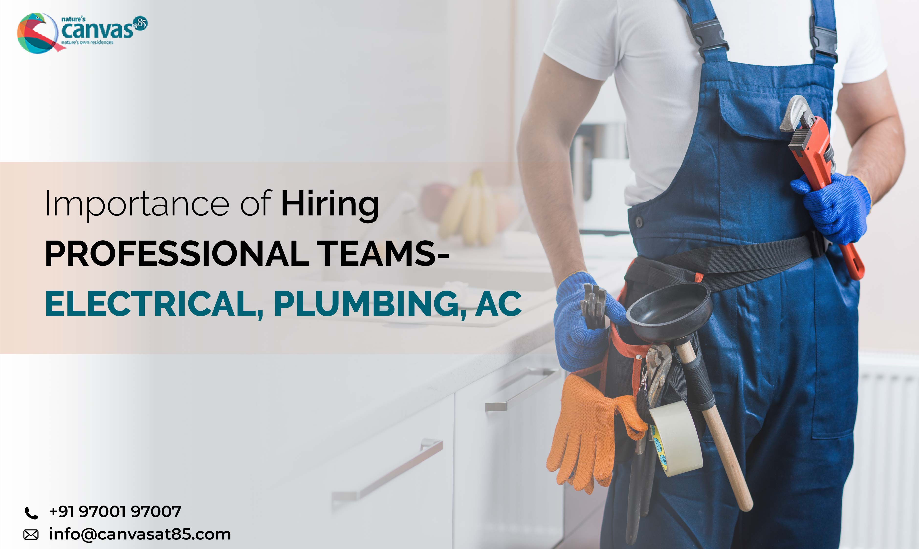 Importance of Hiring Professional Teams- Electrical, Plumbing, AC