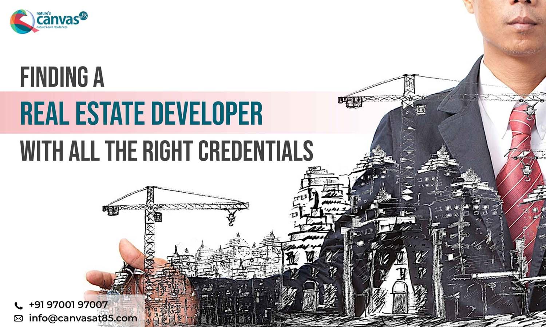 Finding a real estate developer