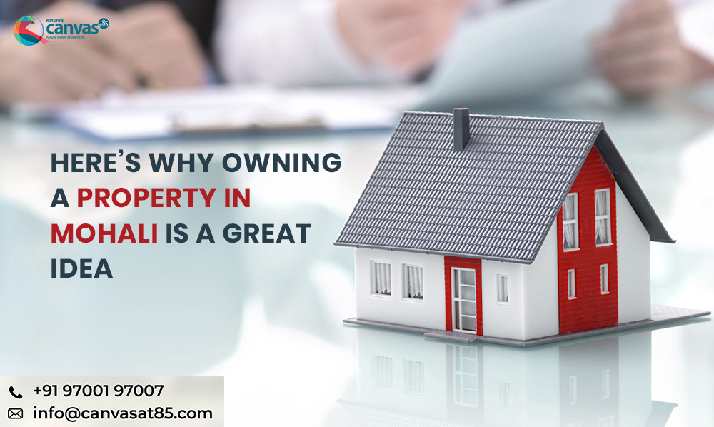 Here's why owning a Property in Mohali is a Great Idea