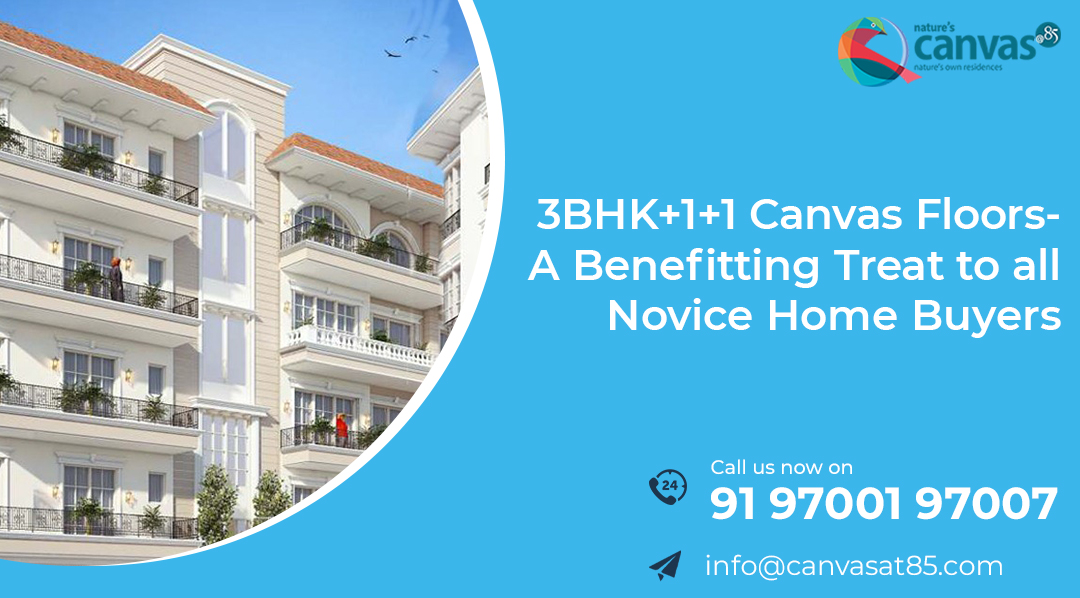 3BHK+1+1 Canvas Floors